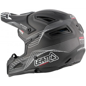 Leatt DBX 6.0 Carbon Helmet black/white